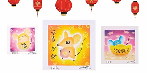 Japanese Pastel Nagomi Art Workshop - The Year of Golden Rat