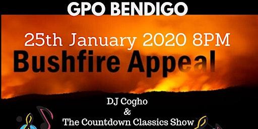 "GPO - BushFire Appeal  ""Countdown Classics Show"" Featuring Cogho"