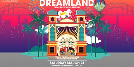 Dreamland Theme Park Music Festival 2020 tickets