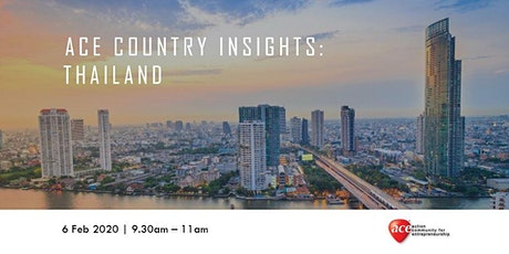 ACE Country Insights: Thailand tickets