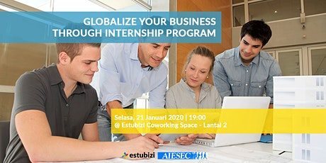 Globalize Your Business through Internship Program tickets