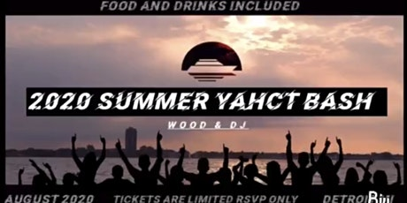 2020 SUMMER YACHT BASH tickets