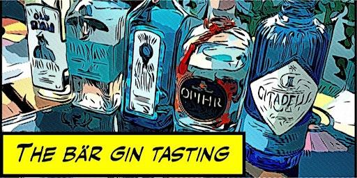 The Bär Gin Tasting