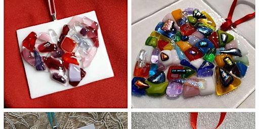Sold Out Glass Heart Ornament Workshop Ideal Bite Farm Hills