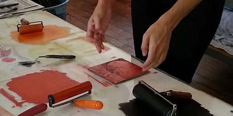 How to make beautiful linocuts tickets
