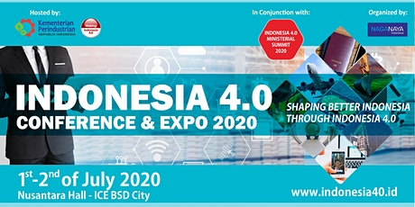 Indonesia 4.0 Conference and Expo 2020 tickets
