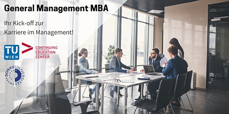 Info-Session General Management MBA tickets