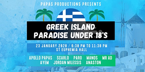 Greek Island Paradise U18s
