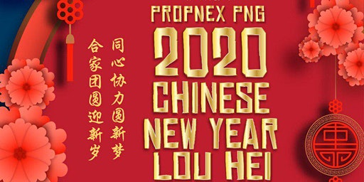 PropNex Powerful Negotiators 2020 Chinese New Year Lou Hei Celebration