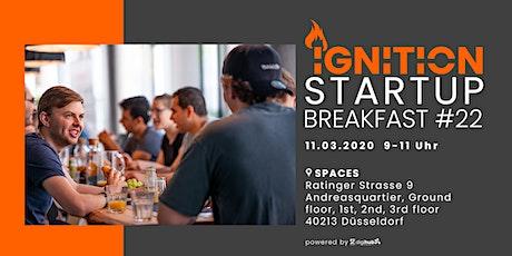 Ignition Startup Breakfast #22 tickets