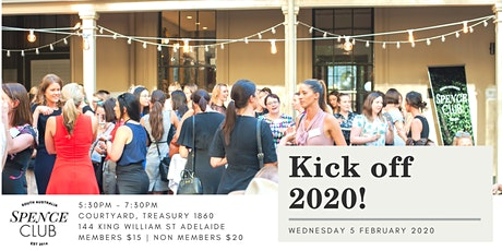 Kick off 2020 - Spence Club networking tickets