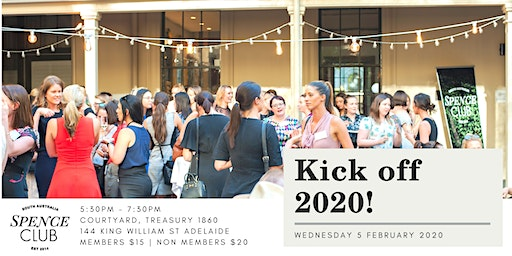 Kick off 2020 - Spence Club networking