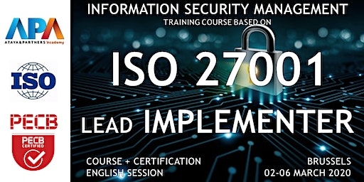 ISO/IEC 27001 Lead Implementer Course and Certification