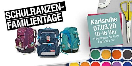 Schulranzen-Familientag Karlsruhe | 2020 Tickets