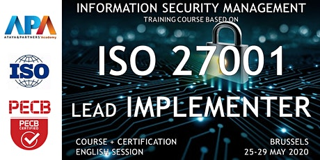 ISO/IEC 27001 Lead Implementer Course and Certification billets