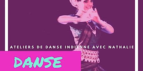 Atelier de danse indienne Odissi avec Nathalie billets