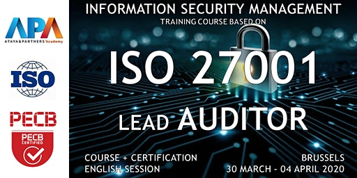 ISO/IEC 27001 Lead Auditor Course and Certification