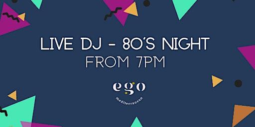 Live DJ - 80's Night, Bromsgrove