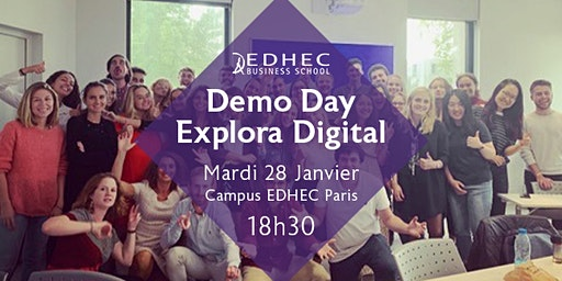 DEMO DAY - CERTIFICAT EXPLORA DIGITAL
