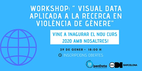 Inici de curs a Open Data School i Workshop ' Visual Data i Reptes Socials' entradas