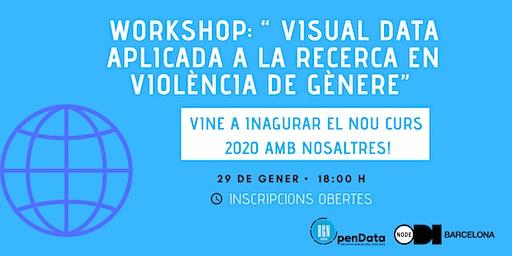 Inici de curs a Open Data School i Workshop ' Visual Data i Reptes Socials'