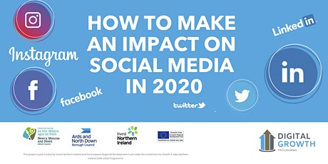 How to make an impact on Social Media in 2020 tickets