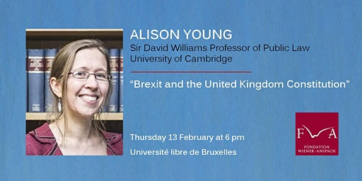 Lecture by Prof. Alison Young (University of Cambridge)