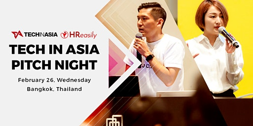 Tech in Asia Pitch Night Bangkok Edition