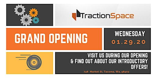 TractionSpace's Grand Opening Reception & Ribbon Cutting Ceremony