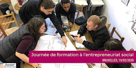 Journée de formation à l'entrepreneuriat social à Bruxelles tickets