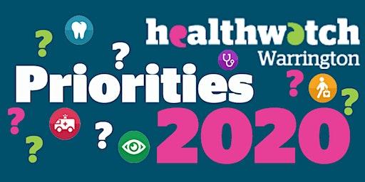 Healthwatch Warrington Priorities Workshop