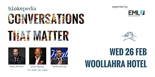 Conversations that Matter: Woollahra Hotel