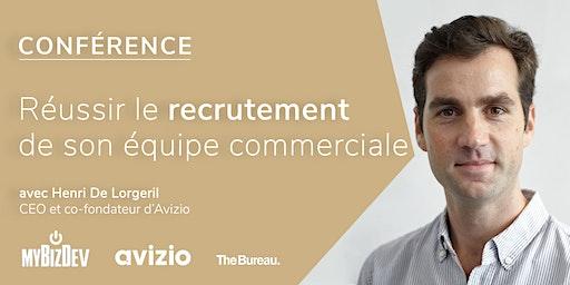 Conférence - Réussir le recrutement de son équipe commerciale