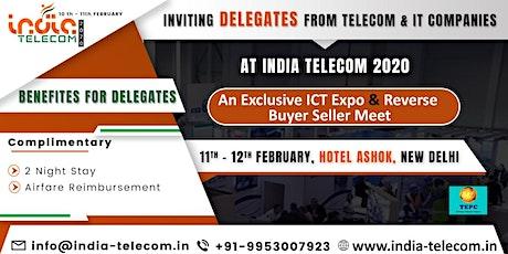 India Telecom 2020 tickets