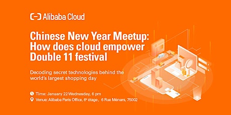 Chinese New Year Meetup: How does Cloud empower Double 11 Festival tickets