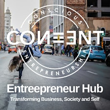Entrepreneur Hub by CON ENT logo