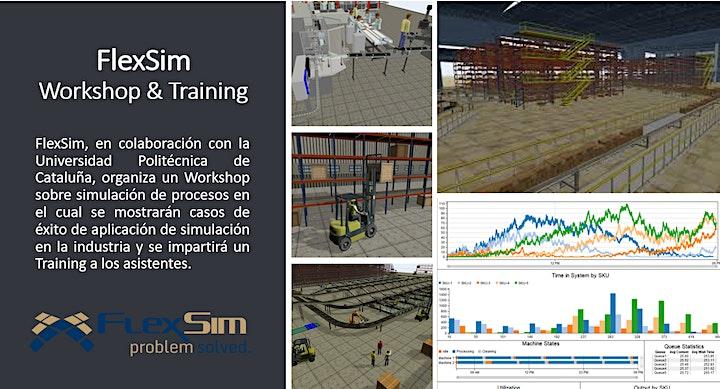Imagen de FlexSim Workshop y Training en la UPC