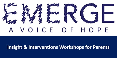 Emerge Parent Workshop 10th March 2020 tickets
