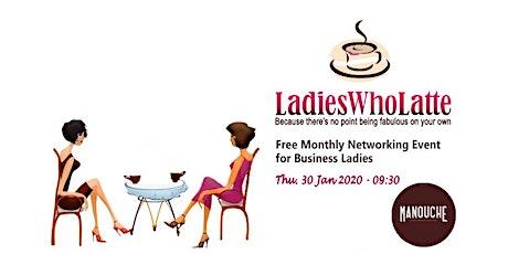 Ladies Who Latte Malta - January 2020 Meet-up tickets