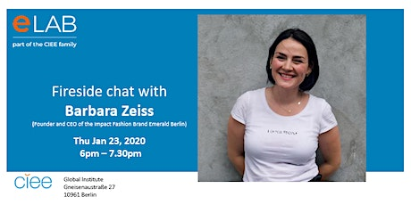 Fireside Chat with Barbara Zeiss Tickets