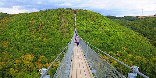 "Sa,28.03.Wanderdate ""Single Wandern Hängeseilbrücke Geierlay + Layensteig Strimmiger Berg für 40+"