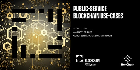 Public Services Use-cases for Blockchain ? tickets