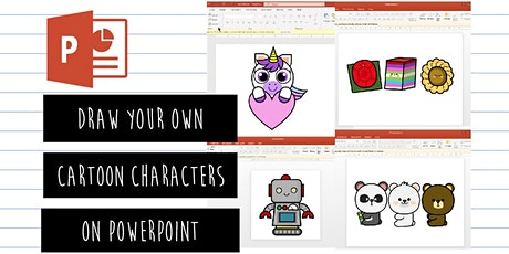 PowerPoint Illustrator: Draw Your Own Cartoon Characters On PowerPoint tickets