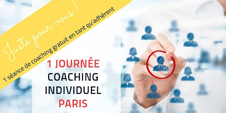 JOURNEE DE COACHING INDIVIDUEL -PARIS - SEANCE GRATUITE ADHERENT billets