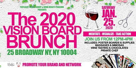 The 2020 Vision Board Brunch tickets