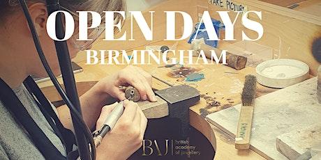 British Academy of Jewellery Open Day Birmingham tickets