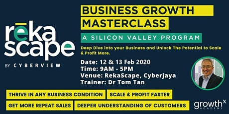 Business Growth Masterclass (A Silicon Valley Program) tickets