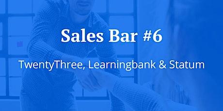 Sales Bar #6 | Twentythree, Learningbank & Statum | Talks, Beers & Pizzas tickets