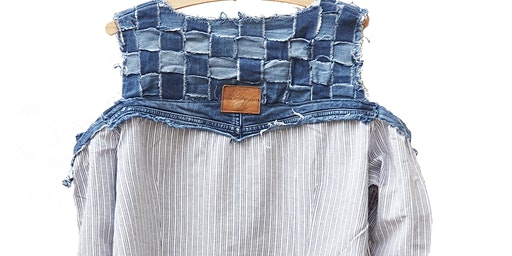 Use a pair of Jeans to make a jacket