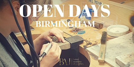 British Academy of Jewellery Open Day Birmingham tickets